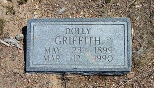 "GRIFFITH, MATILDA ""DOLLY"" - Prowers County, Colorado 