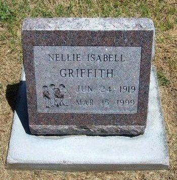 GRIFFITH, NELLIE ISABELL - Prowers County, Colorado | NELLIE ISABELL GRIFFITH - Colorado Gravestone Photos