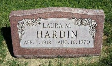 HARDIN, LAURA MAE - Prowers County, Colorado | LAURA MAE HARDIN - Colorado Gravestone Photos