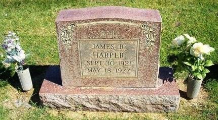 HARPER, JAMES R - Prowers County, Colorado   JAMES R HARPER - Colorado Gravestone Photos