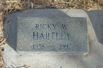 HARTLEY, RICKY W - Prowers County, Colorado | RICKY W HARTLEY - Colorado Gravestone Photos