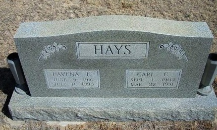 HAYS, LAVENA E - Prowers County, Colorado | LAVENA E HAYS - Colorado Gravestone Photos