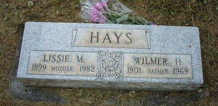 HAYS, LISSIE M - Prowers County, Colorado | LISSIE M HAYS - Colorado Gravestone Photos