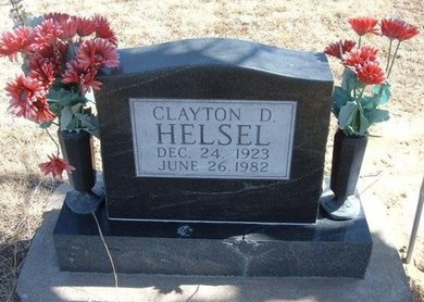HELSEL, CLAYTON DEAN - Prowers County, Colorado | CLAYTON DEAN HELSEL - Colorado Gravestone Photos