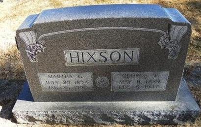 HIXSON, GEORGE W - Prowers County, Colorado | GEORGE W HIXSON - Colorado Gravestone Photos