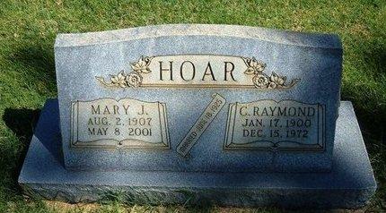 HOAR, MARY JANE - Prowers County, Colorado | MARY JANE HOAR - Colorado Gravestone Photos