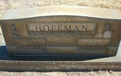 HOFFMAN, EARL RAYMOND - Prowers County, Colorado | EARL RAYMOND HOFFMAN - Colorado Gravestone Photos