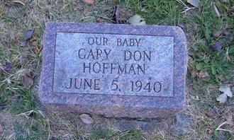 HOFFMAN, GARY DON - Prowers County, Colorado   GARY DON HOFFMAN - Colorado Gravestone Photos