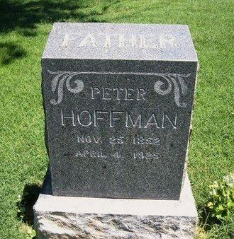 HOFFMAN, PETER - Prowers County, Colorado   PETER HOFFMAN - Colorado Gravestone Photos