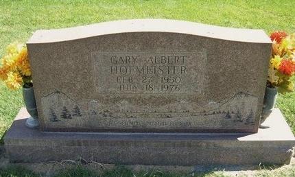 HOFMEISTER, GARY ALBERT - Prowers County, Colorado   GARY ALBERT HOFMEISTER - Colorado Gravestone Photos