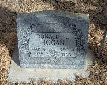 HOGAN, RONALD J - Prowers County, Colorado | RONALD J HOGAN - Colorado Gravestone Photos
