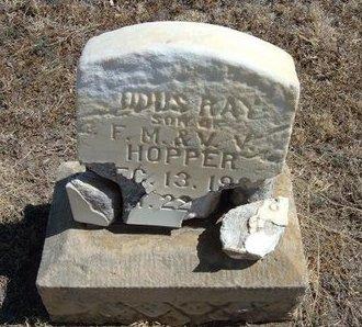 HOPPER, ODUS RAY - Prowers County, Colorado | ODUS RAY HOPPER - Colorado Gravestone Photos
