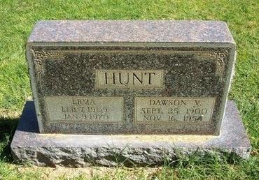 HUNT, DAWSON V - Prowers County, Colorado   DAWSON V HUNT - Colorado Gravestone Photos