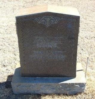 HUNT, HARRY - Prowers County, Colorado | HARRY HUNT - Colorado Gravestone Photos