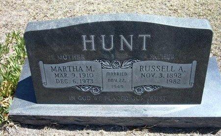 HUNT, MARTHA M - Prowers County, Colorado   MARTHA M HUNT - Colorado Gravestone Photos