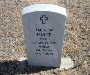 HUNT (VETERAN KOR), JACK WILLIAM - Prowers County, Colorado   JACK WILLIAM HUNT (VETERAN KOR) - Colorado Gravestone Photos