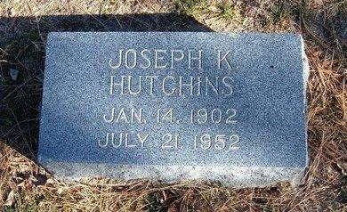 HUTCHINS, JOSEPH K - Prowers County, Colorado | JOSEPH K HUTCHINS - Colorado Gravestone Photos