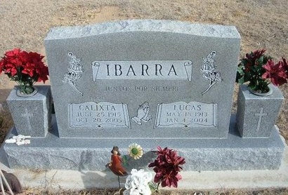 IBARRA, CALIXTA - Prowers County, Colorado | CALIXTA IBARRA - Colorado Gravestone Photos