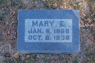 INFIELD, MARY E - Prowers County, Colorado   MARY E INFIELD - Colorado Gravestone Photos
