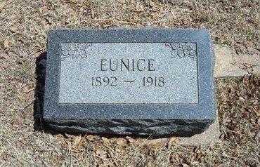JAMES, EUNICE - Prowers County, Colorado | EUNICE JAMES - Colorado Gravestone Photos