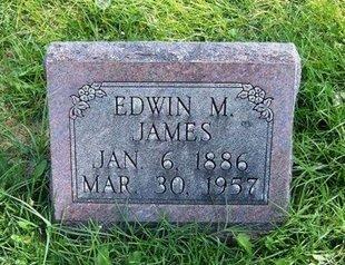 JAMES, EDWIN M - Prowers County, Colorado | EDWIN M JAMES - Colorado Gravestone Photos