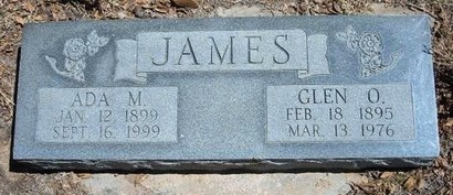 JAMES, ADA M - Prowers County, Colorado | ADA M JAMES - Colorado Gravestone Photos