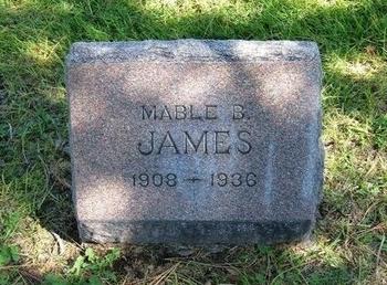 JAMES, MABLE B - Prowers County, Colorado | MABLE B JAMES - Colorado Gravestone Photos