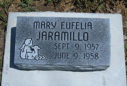 JARAMILLO, MARY EUFELIA - Prowers County, Colorado   MARY EUFELIA JARAMILLO - Colorado Gravestone Photos