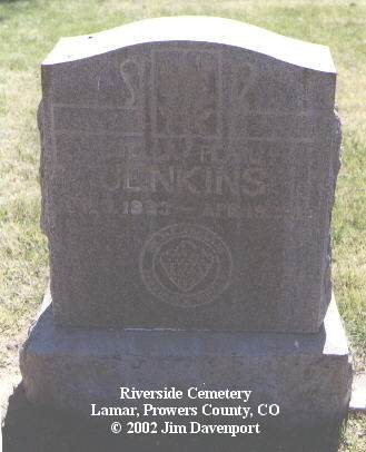JENKINS, STELLA PEARL - Prowers County, Colorado | STELLA PEARL JENKINS - Colorado Gravestone Photos