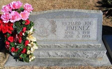JIMENEZ, RICHARD JOE - Prowers County, Colorado   RICHARD JOE JIMENEZ - Colorado Gravestone Photos