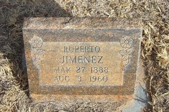 JIMENEZ, RUPERTO - Prowers County, Colorado   RUPERTO JIMENEZ - Colorado Gravestone Photos