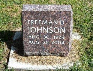 JOHNSON, FREEMAN D - Prowers County, Colorado | FREEMAN D JOHNSON - Colorado Gravestone Photos