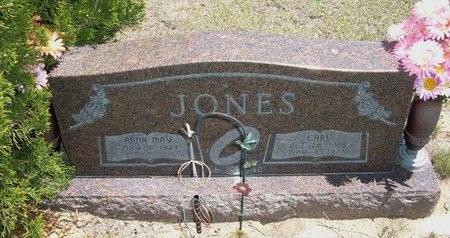 JONES, CARL R - Prowers County, Colorado   CARL R JONES - Colorado Gravestone Photos