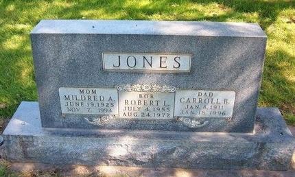 JONES, MILDRED A - Prowers County, Colorado | MILDRED A JONES - Colorado Gravestone Photos