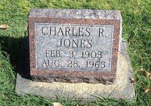 JONES, CHARLES R - Prowers County, Colorado | CHARLES R JONES - Colorado Gravestone Photos