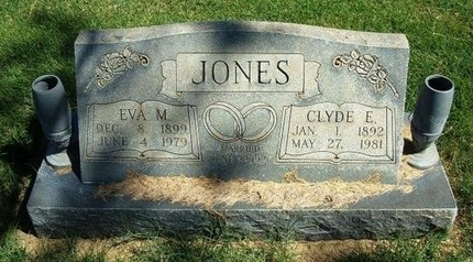 JONES, CLYDE E - Prowers County, Colorado | CLYDE E JONES - Colorado Gravestone Photos
