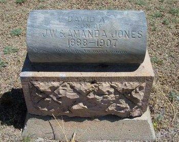 JONES, DAVID A - Prowers County, Colorado | DAVID A JONES - Colorado Gravestone Photos