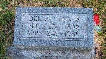 JONES, DELLA - Prowers County, Colorado | DELLA JONES - Colorado Gravestone Photos