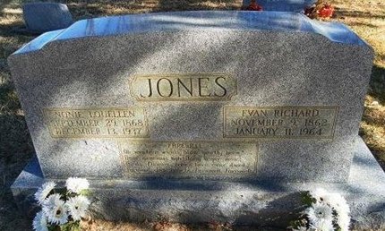 JONES, EVAN RICHARD - Prowers County, Colorado | EVAN RICHARD JONES - Colorado Gravestone Photos