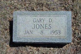 JONES, GARY D - Prowers County, Colorado | GARY D JONES - Colorado Gravestone Photos