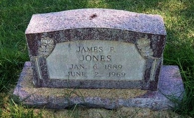 JONES, JAMES P - Prowers County, Colorado | JAMES P JONES - Colorado Gravestone Photos