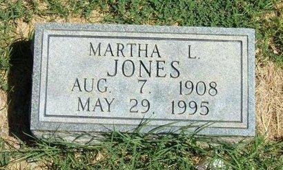 JONES, MARTHA L - Prowers County, Colorado | MARTHA L JONES - Colorado Gravestone Photos