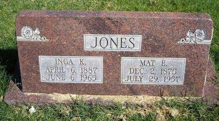 JONES, INGA K - Prowers County, Colorado | INGA K JONES - Colorado Gravestone Photos