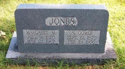 JONES, N GOMER - Prowers County, Colorado | N GOMER JONES - Colorado Gravestone Photos