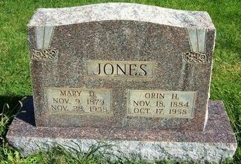 JONES, MARY D - Prowers County, Colorado   MARY D JONES - Colorado Gravestone Photos
