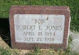 "JONES, ROBERT ELMER ""BOB"" - Prowers County, Colorado 