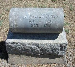 JONES, S WALTER - Prowers County, Colorado | S WALTER JONES - Colorado Gravestone Photos