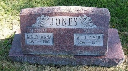 JONES, MARY ANNA - Prowers County, Colorado | MARY ANNA JONES - Colorado Gravestone Photos