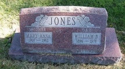 JONES, WILLIAM B - Prowers County, Colorado | WILLIAM B JONES - Colorado Gravestone Photos