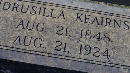 CRABTREE KEAIRNS, DRUSILLA - Prowers County, Colorado | DRUSILLA CRABTREE KEAIRNS - Colorado Gravestone Photos